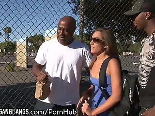 Kiera King -Air taut big black cock group sex